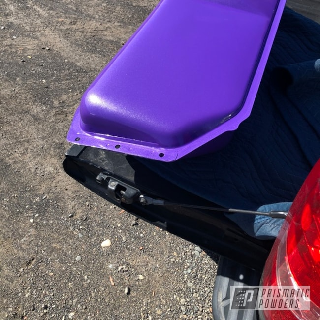 Powder Coated Purple Custom Car Frame
