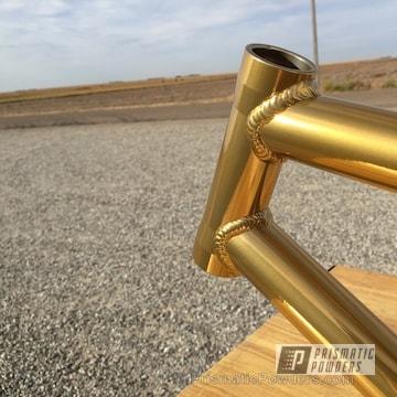Brassy Gold Over Super Chrome