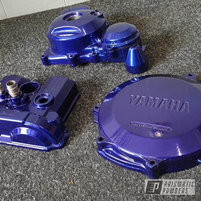 Powder Coating: SUPER CHROME USS-4482,Plue PPB-5630,Yamaha,Go Kart,Arrow Kart,Arrow,Kart Frame