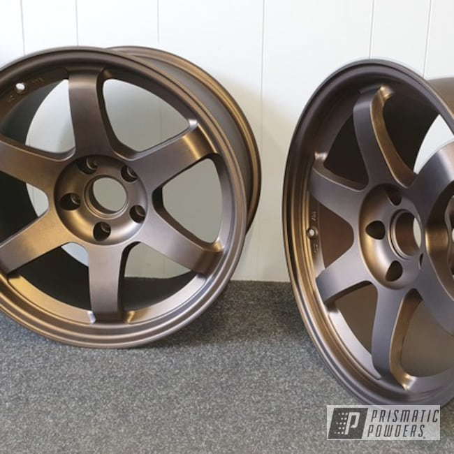 Powder Coating: Wheels,Automotive,Alloy Wheels,Alloy Mags,Aluminium Wheels,Bronze Chrome PMB-4124,Casper Clear PPS-4005,Alloy
