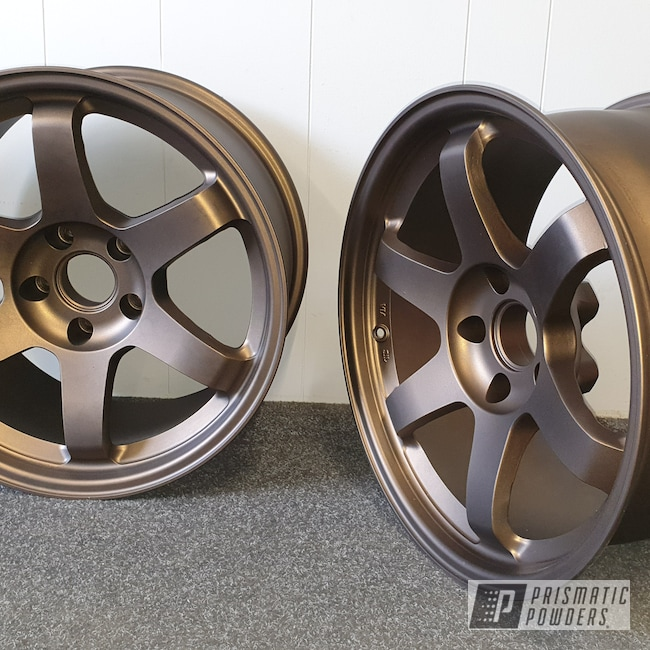 Powder Coating: Wheels,Automotive,Alloy Wheels,Alloy Mags,Aluminium Wheels,Bronze Chrome PMB-4124,Casper Clear PPS-4005,Alloy