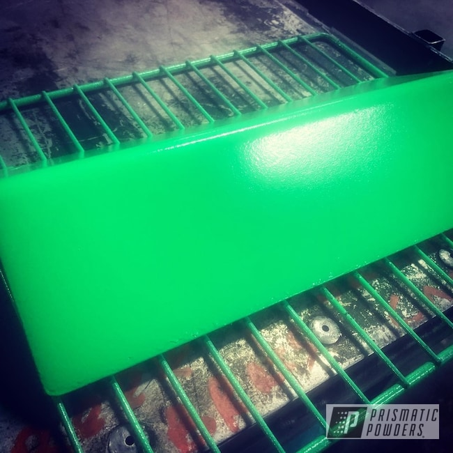 Powder Coating: Metal,Neon Green PSS-1221,Miscellaneous