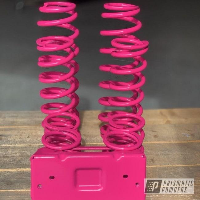 Pink Polaris Rzr Suspension
