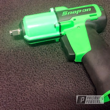 Powder Coated Green Snap-on Impact Driver