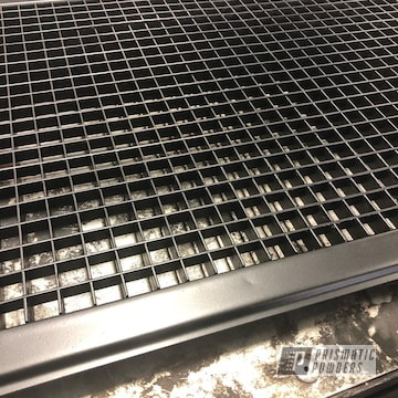 Powder Coated Grey Vent Grate