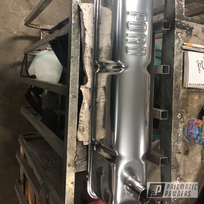 Powder Coating: Automotive,SUPER CHROME USS-4482,223,Panel Van,Ford F-100,Ford,F-100,Valve Cover,1960,Inline