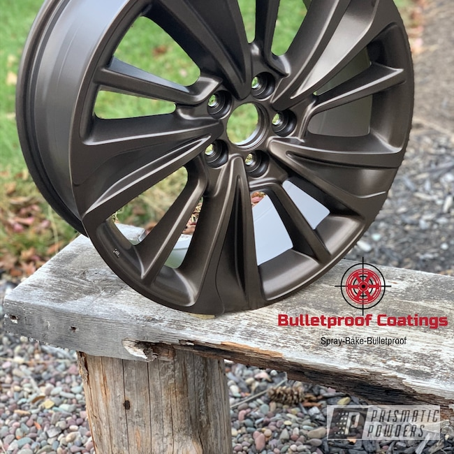 "Powder Coating: Wheels,Automotive,20'',Acura,20"",US BURNT BRONZE UMB-0492,20"" Wheel"