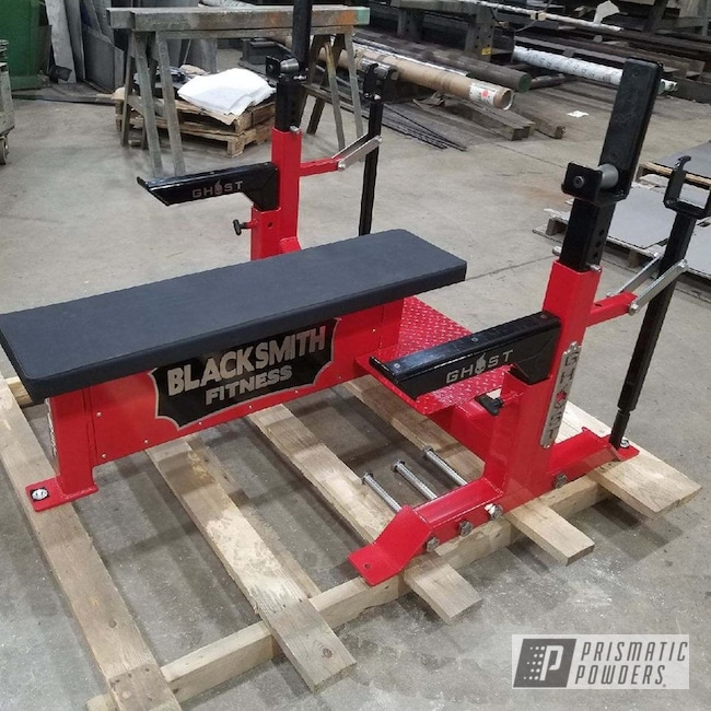 Powder Coating: Ink Black PSS-0106,Gym Equipment,RAL 3002 Carmine Red,Sports,Weight Equipment