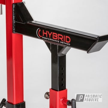 Powder Coated Weightlifting Equipment