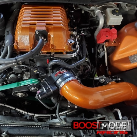 Powder Coating: Automotive,Clear Vision PPS-2974,Engine Parts,Illusion Rootbeer PMB-6924