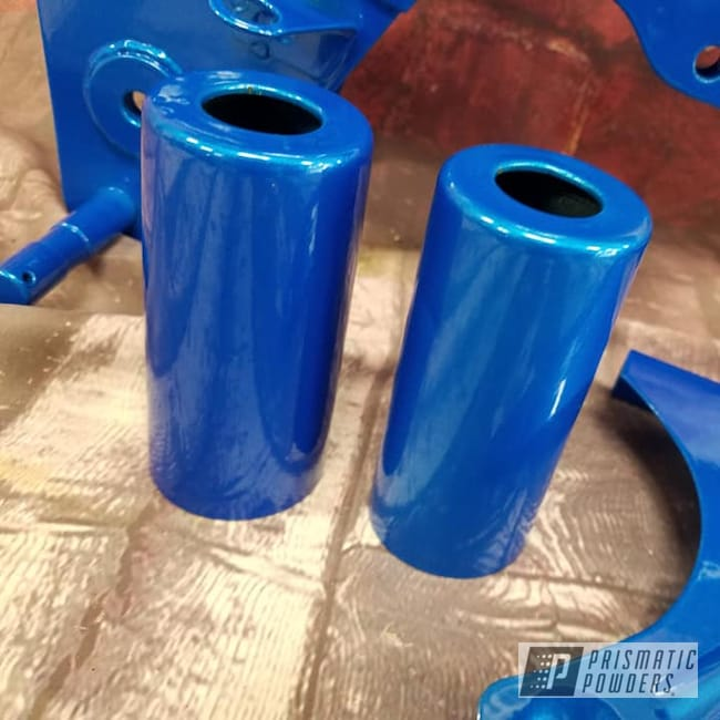 Powder Coating: Clear Vision PPS-2974,Motorcycle Frame,Motorcycle Parts,Honda Motorcycle,Honda 70,Illusion Lite Blue PMS-4621,Motorcycles,Illusions,Honda Dirt Bike