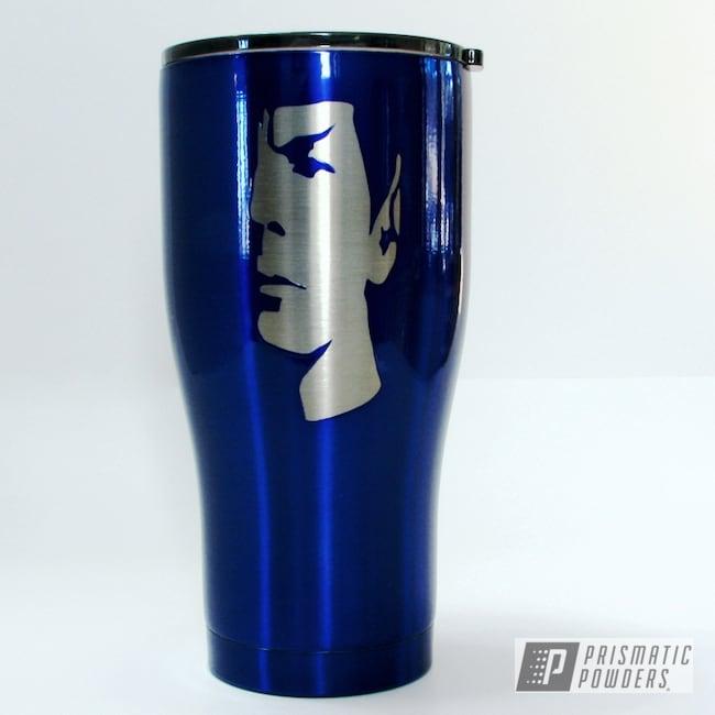 Powder Coating: HOGG,Intense Blue PPB-4474,30oz Tumbler,Custom Tumbler Cup,Custom Tumbler