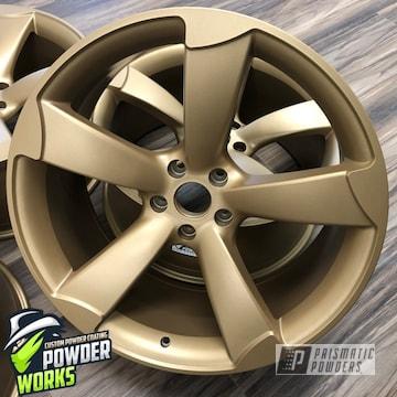 Custom Gold Rims