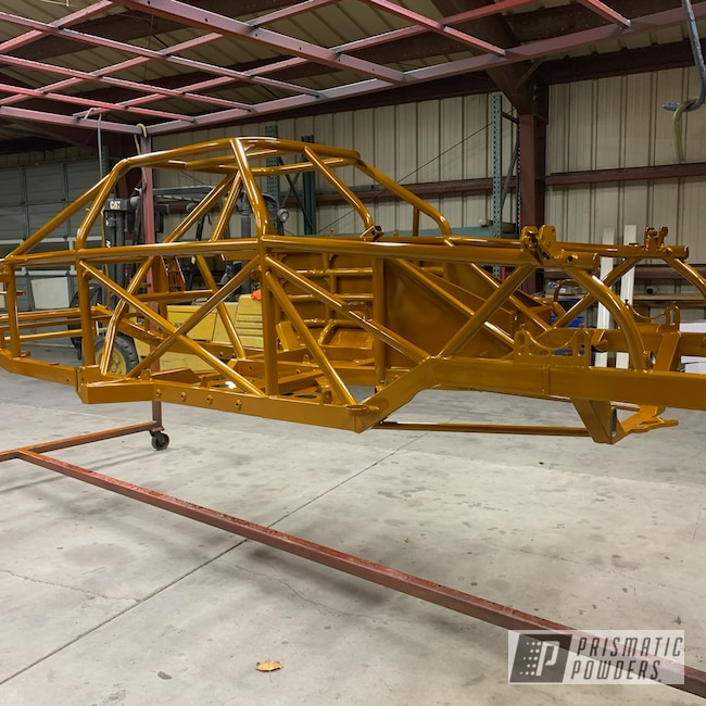Powder Coating: Automotive,Circle Track,Clear Vision PPS-2974,Illusion Spanish Fly PMB-6920,Race Car Chassis