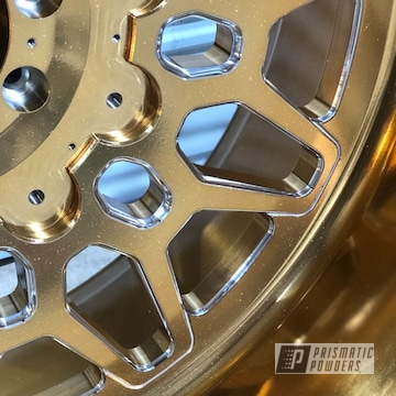 Gold Chrome American Force Sema 2019 Wheels