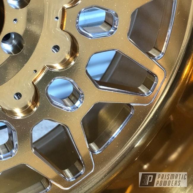 Gold Chrome American Force Sema 2019 Wheels