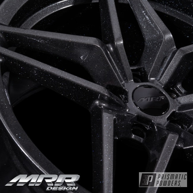 Powder Coated Grey 20 Inch Flow Forged Mrr Wheels