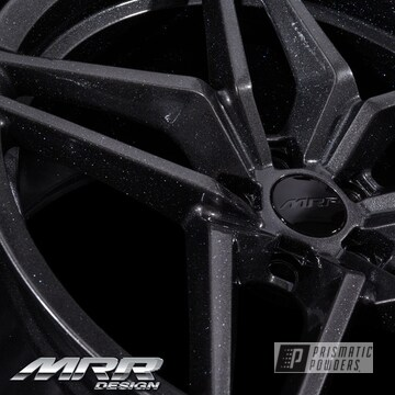 Powder Coated Grey 20 Inch Flow Forged Mrr Wheels
