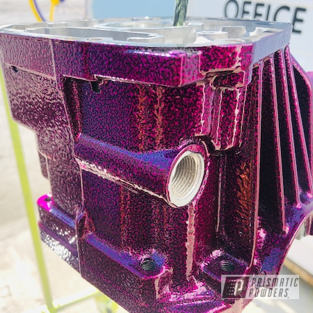 Powder Coating: Automotive,Vibrant Silver Vein PVB-5825,Differential,LOLLYPOP BERRY UPS-1509