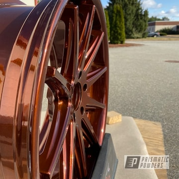 Powder Coated Copper 20 Inch Wheels