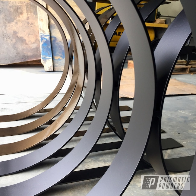 Powder Coating: Flatter Black ESS-4441,Bronze Chrome PMB-4124,Legs,Table Base,drewspowdercoating,Miscellaneous,Furniture