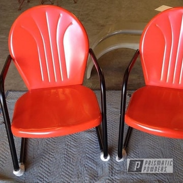 Orange And Black Patio Furniture