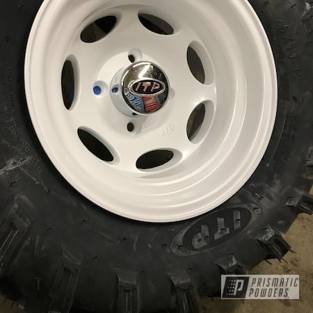 Powder Coating: Wheels,Automotive,Custom Motorcycle Wheels,ATV,ITP,Pearl Sparkle PMB-4130