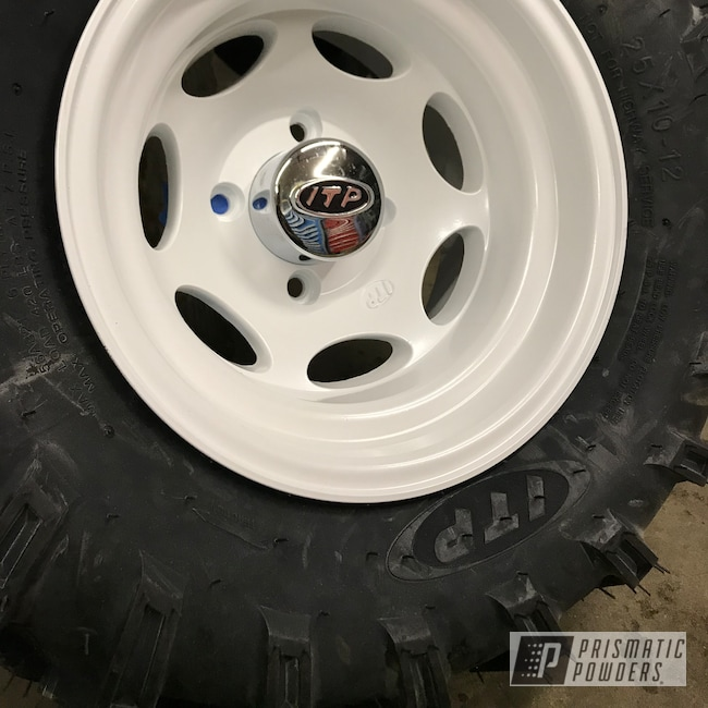 Powder Coating: Wheels,Automotive,Custom Motorcycle Wheels,ATV,ITP,Pearl Sparkle PMB-4130