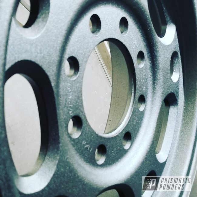Powder Coating: Wheels,Automotive,Custom Rims,Black Cast PCS-4721