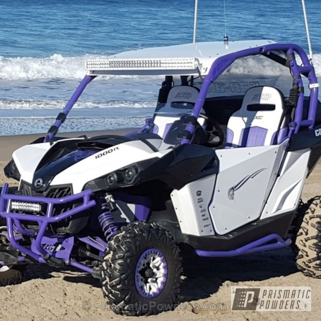 Purple Mirage And White Out