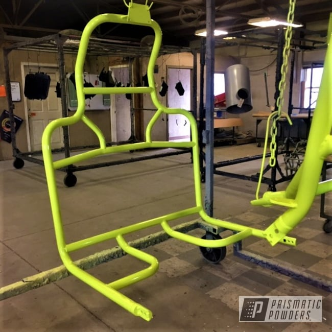 Powder Coating: Custom,Polaris RZR,UTV,Off-Road,Neon Yellow PSS-1104,Polaris,RZR