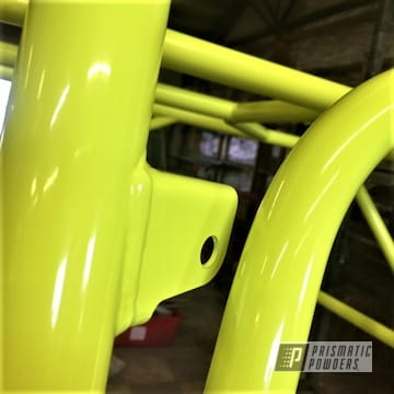 Powder Coated Yellow Polaris Rzr Frame