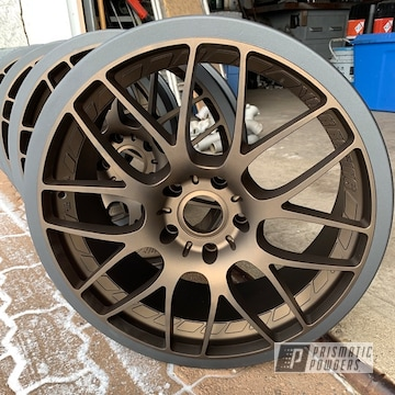 Powder Coated Two Tone Aftermarket Wheels