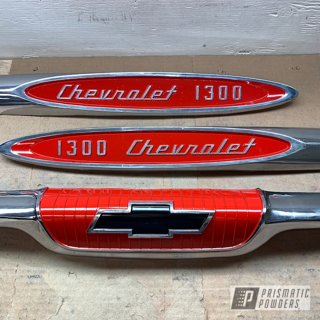 Powder Coating: Automotive,Really Red PSS-4416,Pickup,Chevy