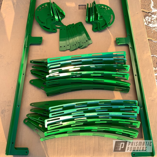 Powder Coating: Automotive,Tractor Green PSS-4517,John Deere