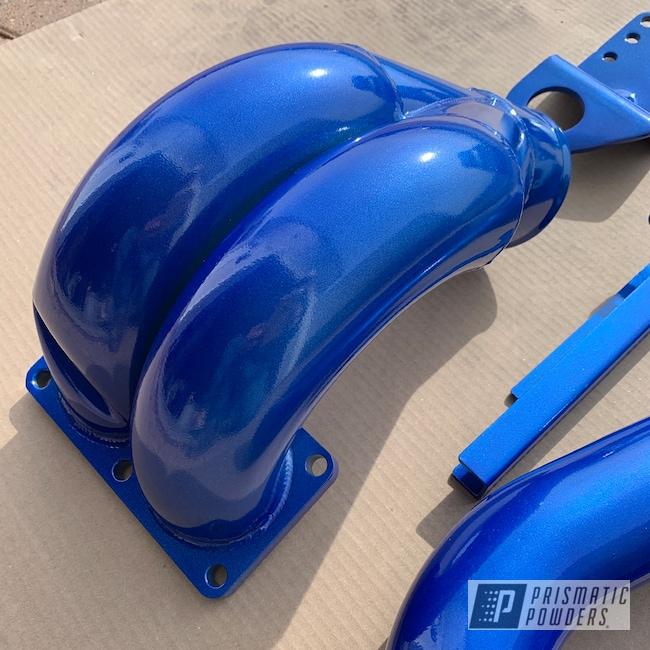 Powder Coating: Illusion Blue-Berg PMB-6910,Automotive,Clear Vision PPS-2974,Dodge,Cummins,Cummins Parts