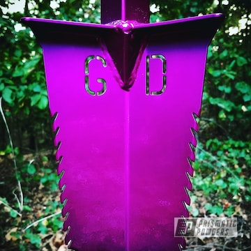 Powder Coated Violet Shovel