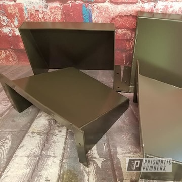 Powder Coated Bronze Industrial Metal Panels
