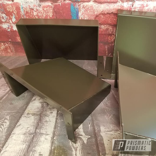 Powder Coating: Metal Refinishing,Industrial,Texas Bronze PSB-5339,Miscellaneous