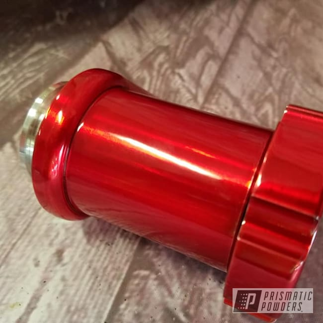 Powder Coating: Transparent Powder Coating,LOLLYPOP RED UPS-1506,Motorcycle Parts,Motorcycles