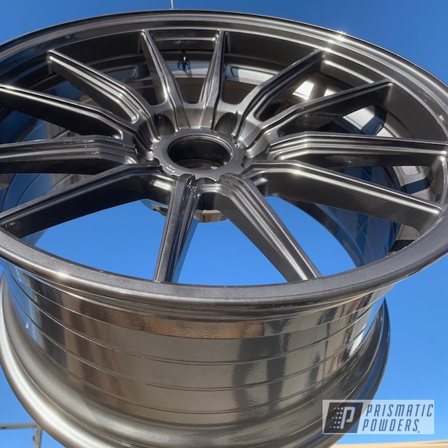 Powder Coating: Wheels,Automotive,Black Chrome II PPB-4623,rockin rims,SUPER CHROME USS-4482,chrome,Colorado,Black chrome,#applied plastic coatings