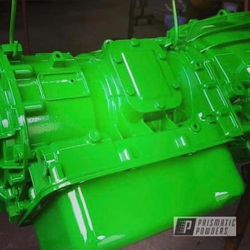 Powder Coated Green Tuck Engine