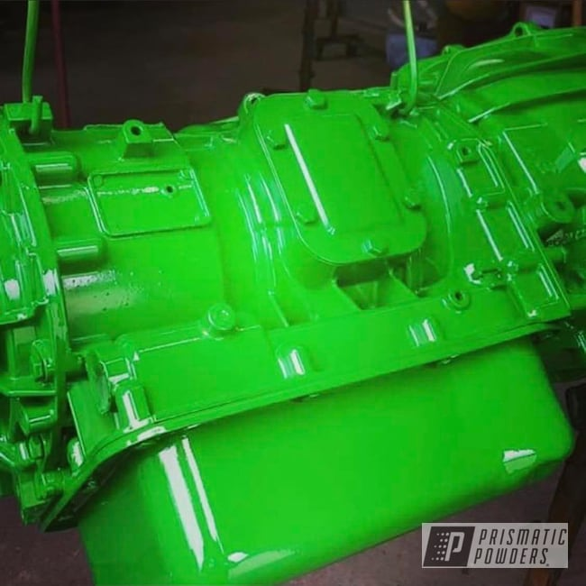 Powder Coating: Automotive,Transmission,Monster Truck,GMC Pickup Truck,Lollypop,Lollypop Lime PPS-5628