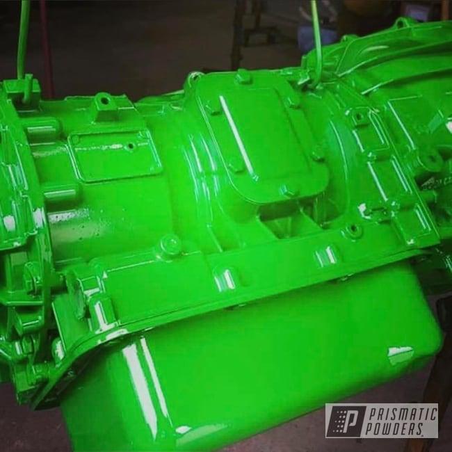 Powder Coating: Automotive,Transmission,Monster Truck,GMC Pickup Truck,Lollypop,Lollypop Lime PPS-5628