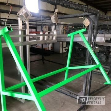 Powder Coated Green Refurbished Shop Equipment