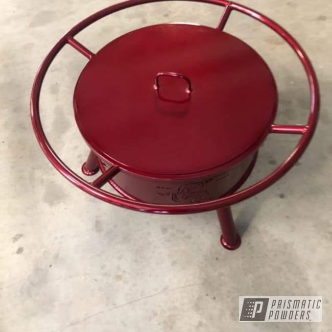 Powder Coating: Clear Vision PPS-2974,Firepit,Illusion Cherry PMB-6905,Fireball