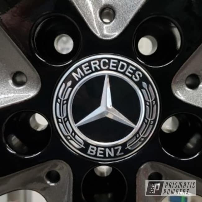 Powder Coated 19 Inch Mercedes Benz Wheels