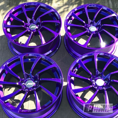 Powder Coating: Illusion Purple PSB-4629,Wheels,Automotive,Alloy Wheels,Clear Vision PPS-2974,Powder Coated Rims,Rims,Aluminium Wheels,Audi,Disco Purple PPB-7033,VW