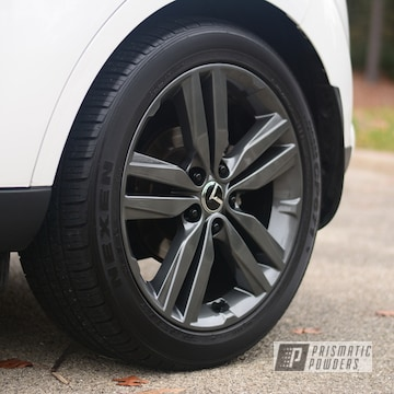 Powder Coated Grey Custom Lexus Wheels