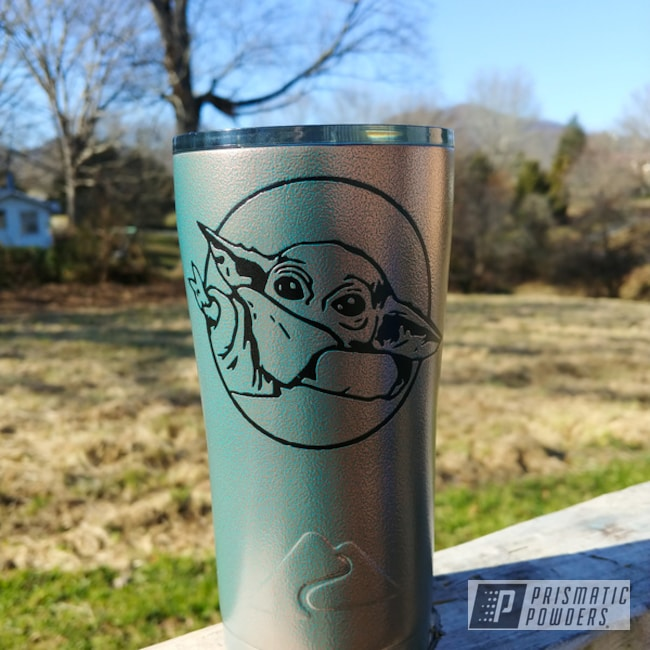 Powder Coating: OCALA COPPER PVB-4695,Star Wars Theme,Custom Tumbler Cup,Ozark Trail